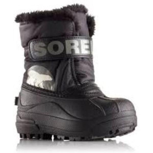 CHILDREN'S SNOW COMMANDER BOOT - BLACK