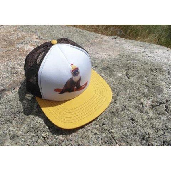 SNOWBOARD WEASEL CAP