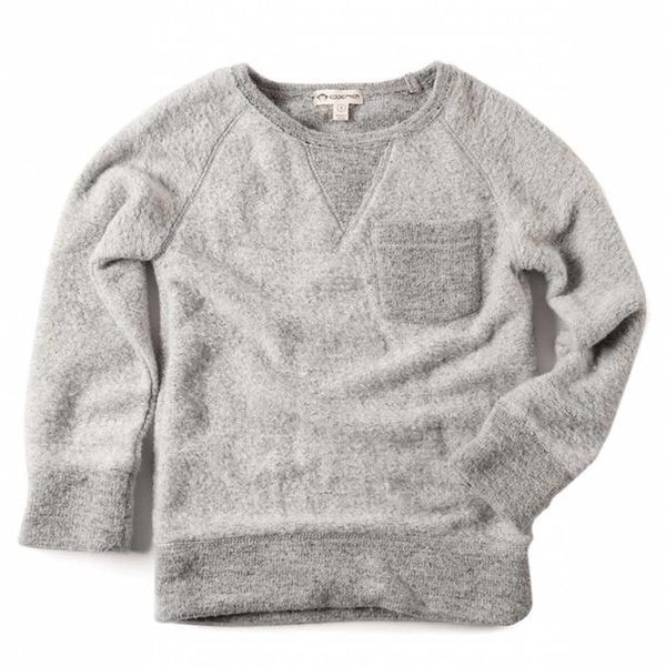 B-SIDE SWEATSHIRT - HEATHER MIST