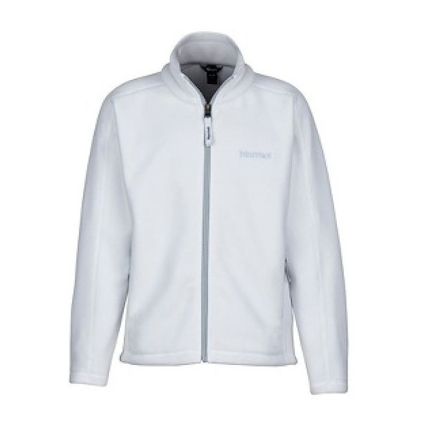GIRL'S LASSEN FLEECE - WHITE
