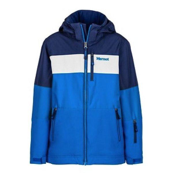 BOY'S HEADWALL JACKET - TRUE BLUE/ARCTIC NAVY