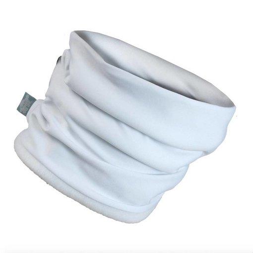 TURTLE FUR COMFORT SHELL NECKULA -  WHITE