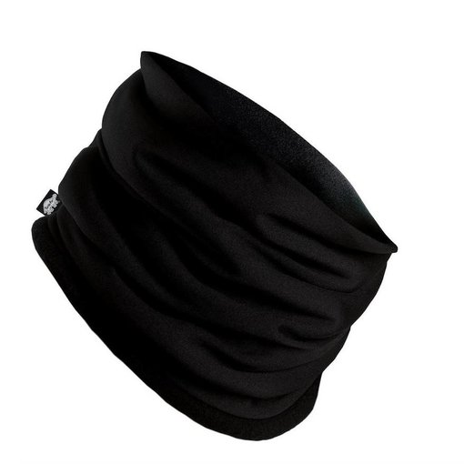 TURTLE FUR COMFORT SHELL NECKULA -  BLACK