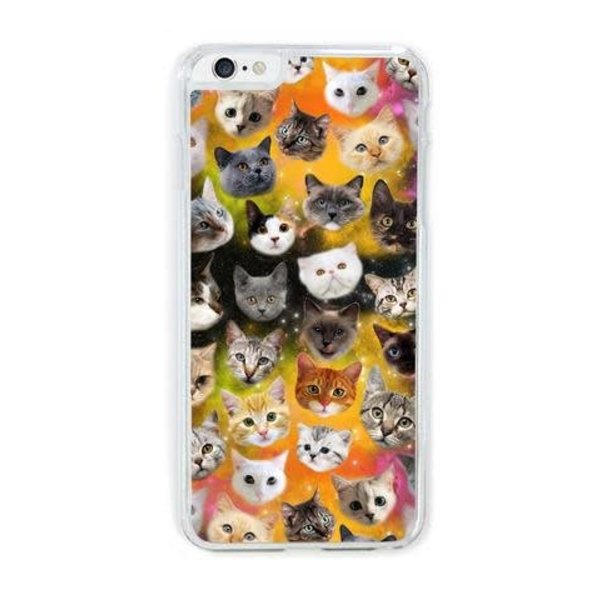 GALAXY KITTY iPHONE CASE