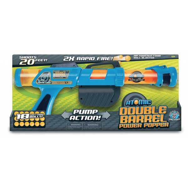 BLUE ATOMIC DOUBLE BARREL POWER POPPER