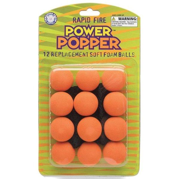 POPPER BALL REFILLS - ORANGE