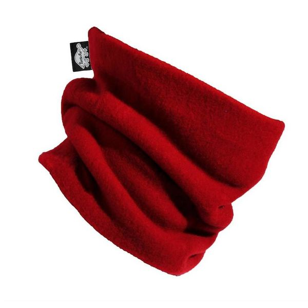 KIDS ORIGINAL TURTLE FUR THE TURTLES NECK - RED