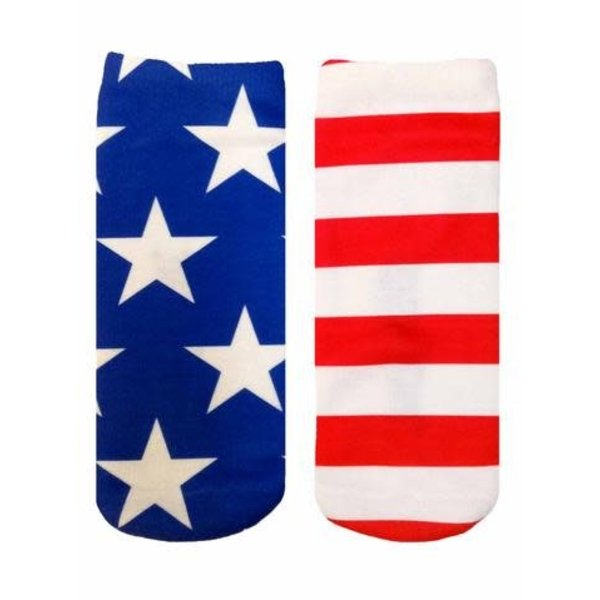 STARS & STRIPES ANKLE SOCKS
