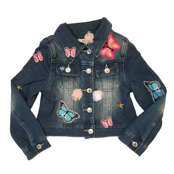 TODDLER BUTTERFLY JEAN JACKET
