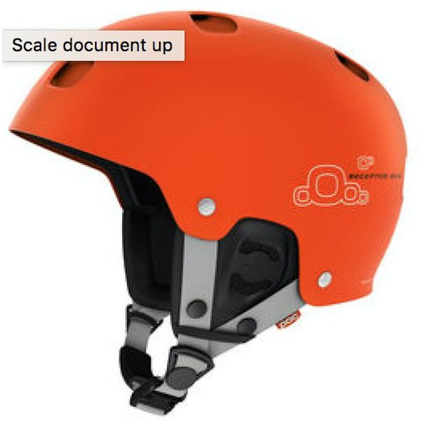 RECEPTOR BUG ADJUSTABLE HELMET - ORANGE - M/L - 55-58CM