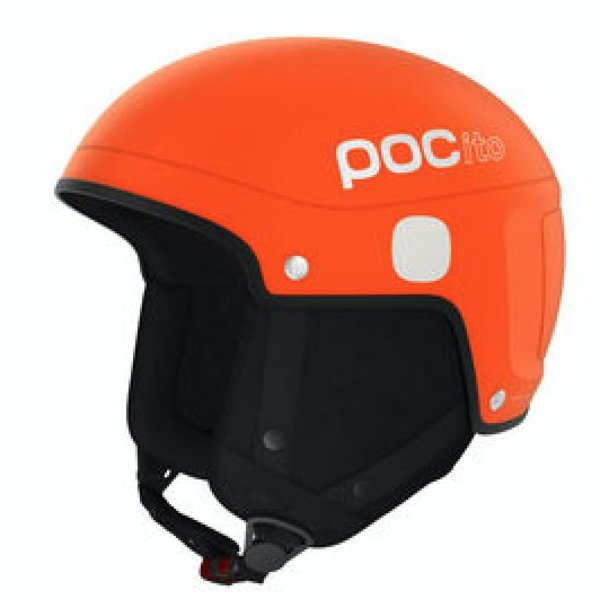 POCITO SKULL LIGHT HELMET - FLUOR ORANGE - XS/S 51-54CM