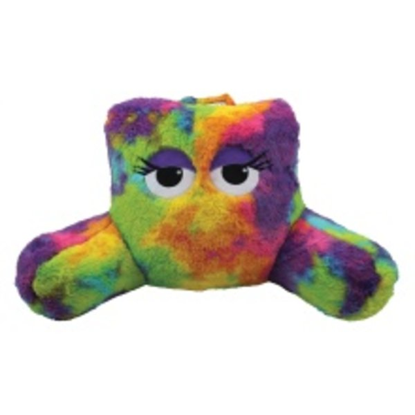 TIE DYE FURRY LOUNGE PILLOW