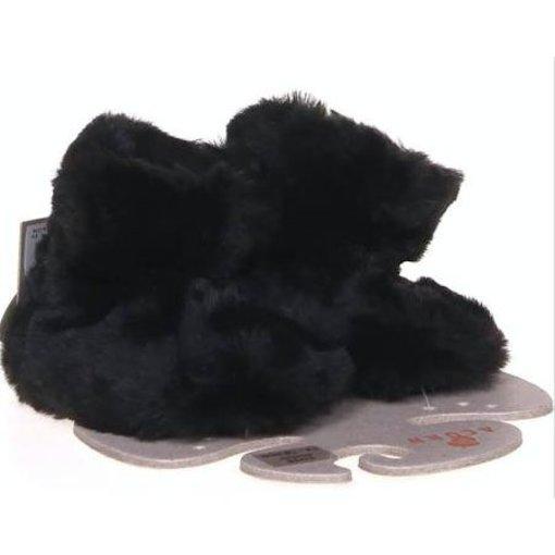 ACORN BLACK BEAR BABY SLIPPER