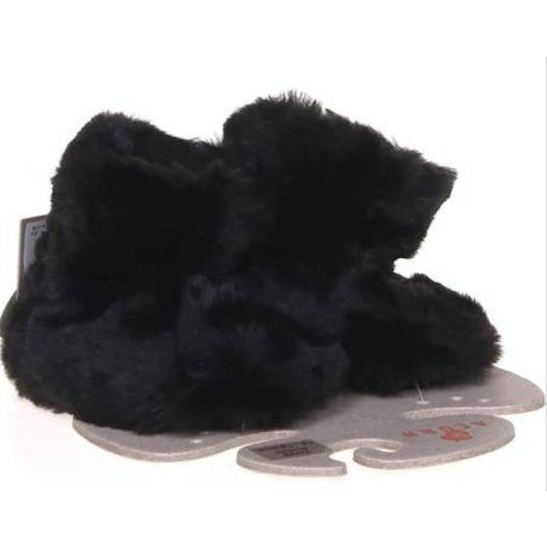 BLACK BEAR BABY SLIPPER