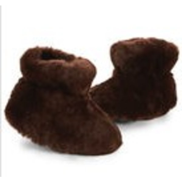 BROWN BEAR BABY SLIPPER