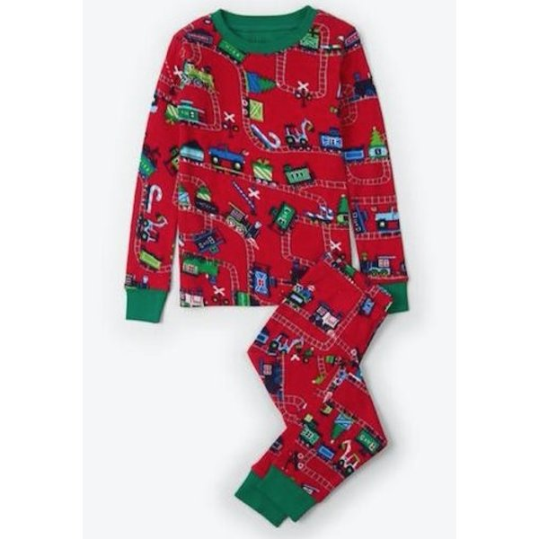 CHRISTMAS TRAIN PJ SET