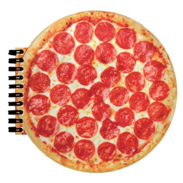 PIZZA SCENTED NOTEBOOK