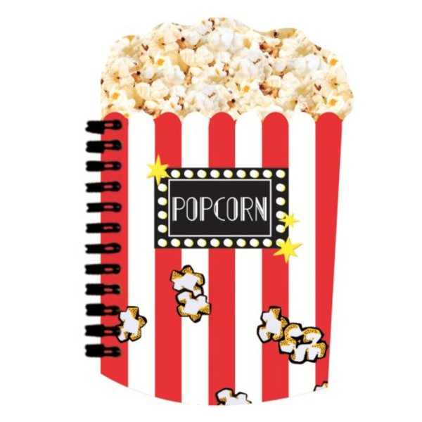POPCORN SCENTED NOTEBOOK