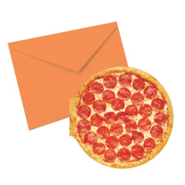 PIZZA SCENTED NOTECARDS