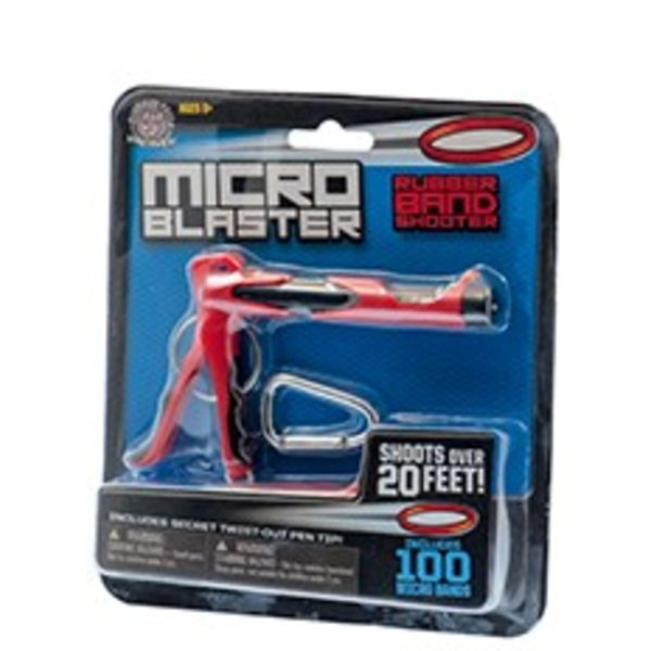MICRO BLASTER RUBBER BAND SHOOTER