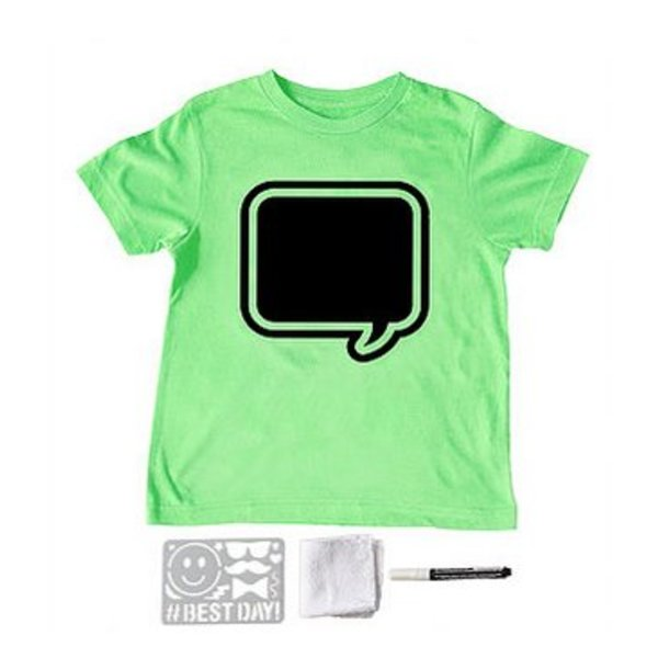LIME SPEECH BUBBLE SHORT SLEEVE TEE