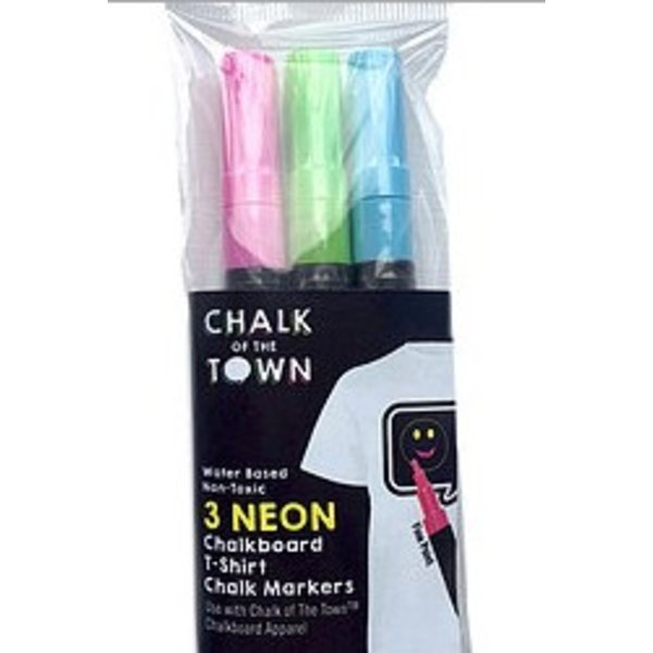 CHALK OF THE TOWN MARKER 3-PACK