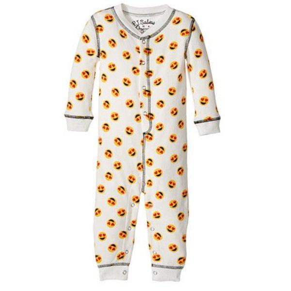 INFANT MOOD EMOJI ROMPER
