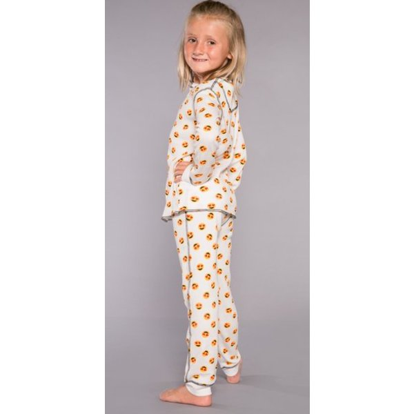 TODDLER GIRLS MOOD EMOJI JAMMIE SET