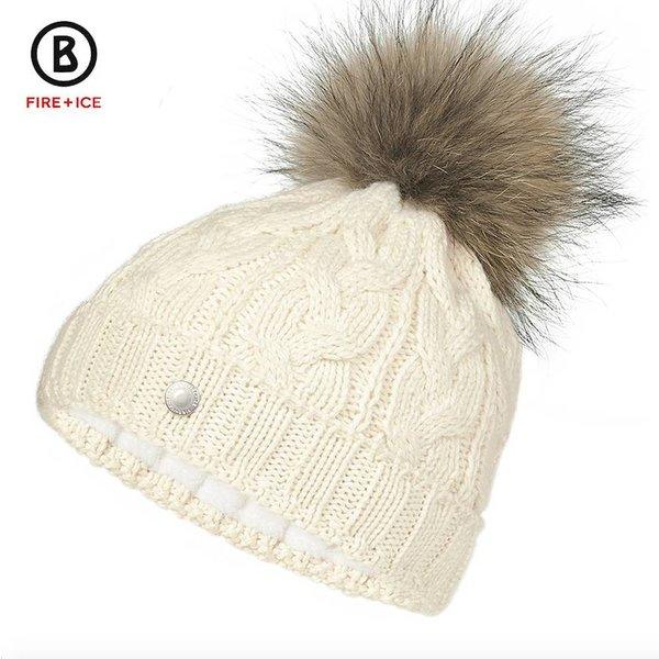 MONI FUR HAT - WHITE