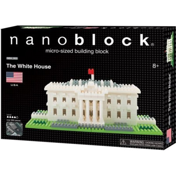 WHITE HOUSE NANOBLOCK