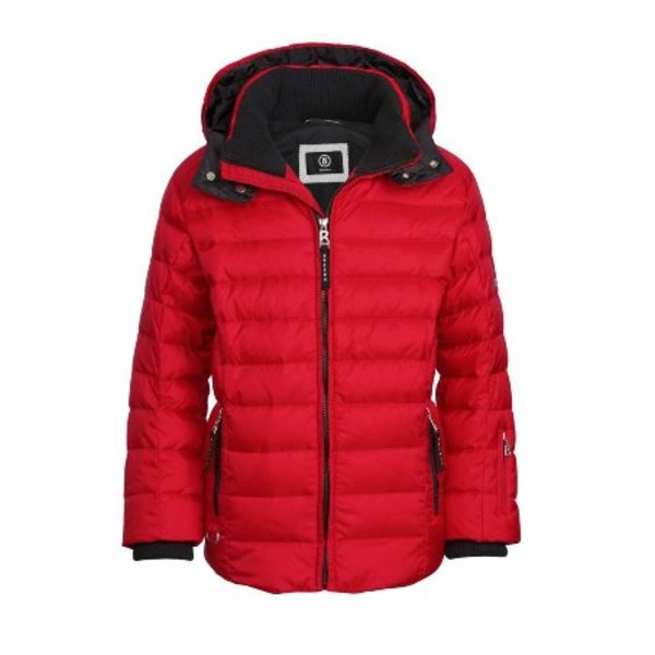 LARSON D JACKET -  RED - M/8 SIZE ONLY