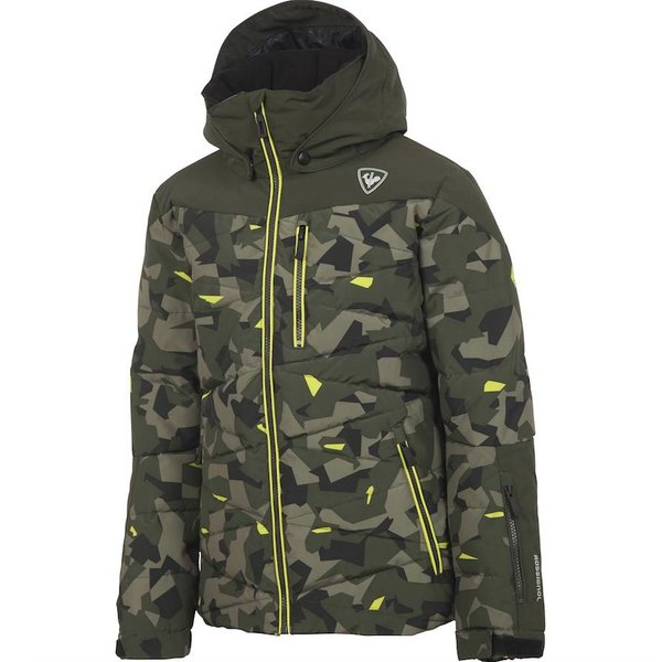 BOYS POLYDOWN JACKET - FROZEN CAMO