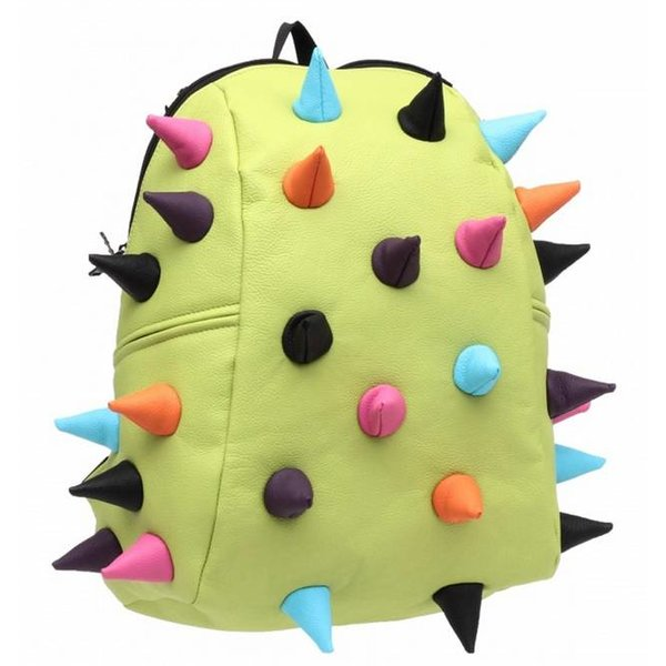 GREEN SPIKETUS-REX HALF-BACKPACK