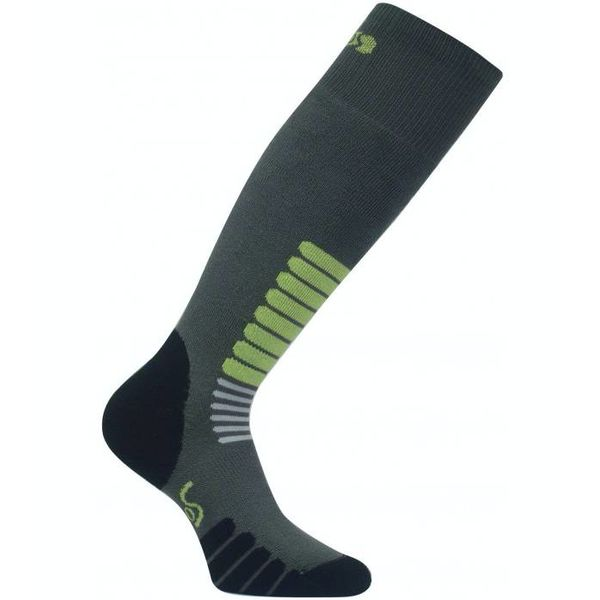 SKI ZONE SKI SOCKS - DARK GREY