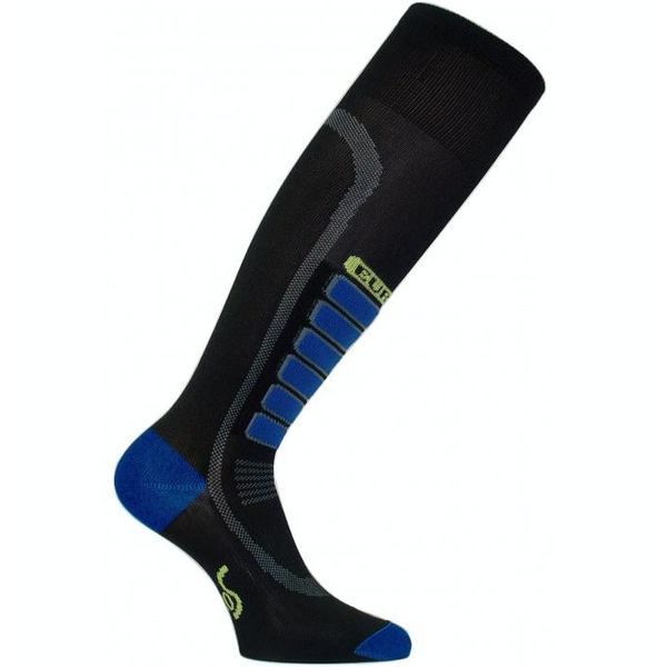 SILVER SKI LIGHT SOCKS - BLACK