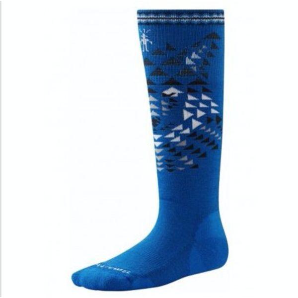 BOY'S WOLF SKI SOCKS - BLUE