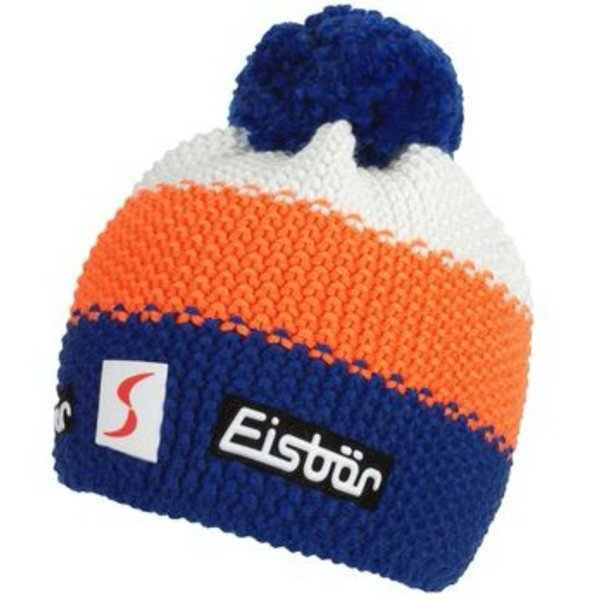 STAR NEON POMPON- WHITE/ORANGE/BLUE - ADULT SIZE  8+