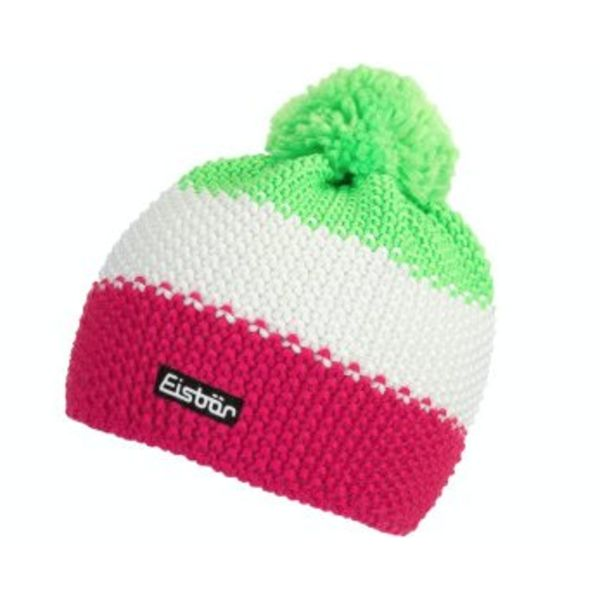 STAR NEON POMPON- NEON GREEN/WHITE/PINK - ADULT SIZE 8+