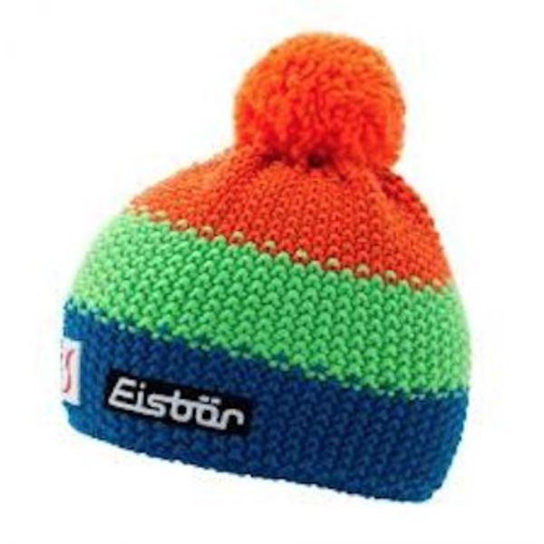 STAR NEON POMPON- ORANGE/NEON GREEN/BLUE - ADULT SIZE  8+