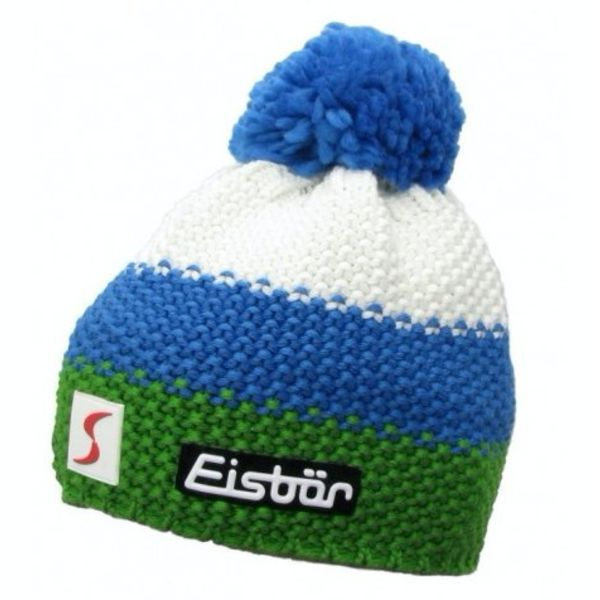 KID STAR POMPON- WHITE/BLUE/GREEN - KIDS