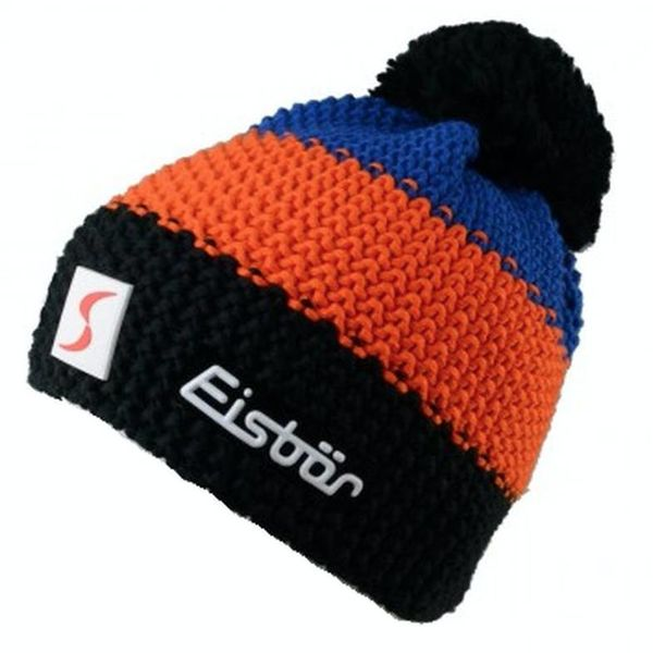 STAR POMPON - BLUE/ORANGE/BLACK - ADULT SIZE 8+