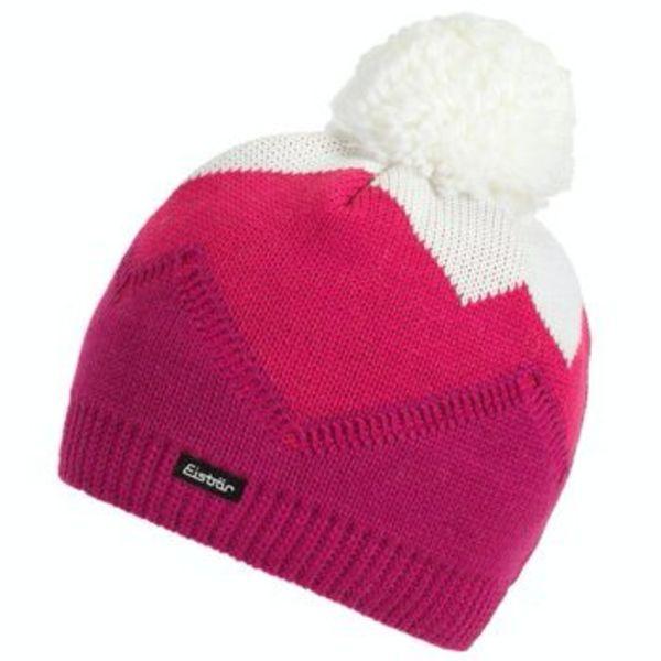 STARSKY POMPOM HAT - PINK - ADULT SIZE 8+