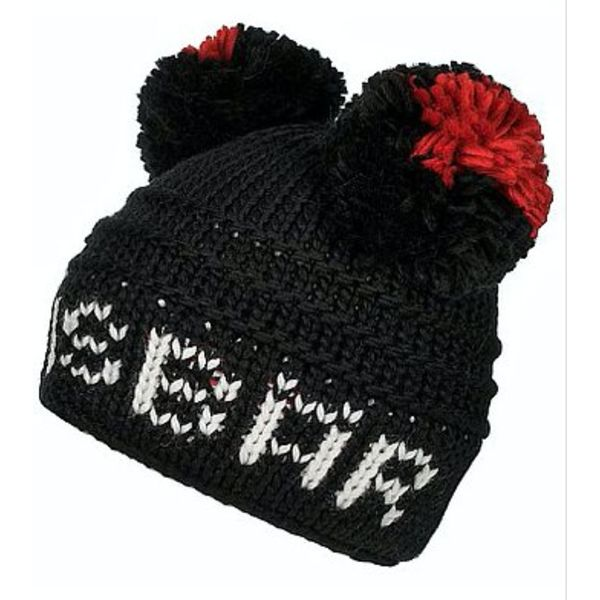 HEART BEAT POMPON - BLACK - ADULT SIZE 8+