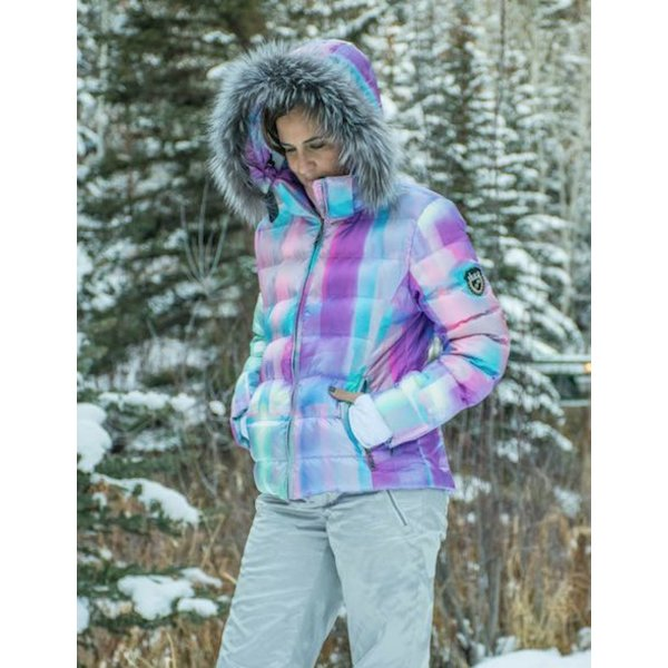 FURRY JUNIOR JAVA JACKET ABACHROME/TEAL SIZE 16