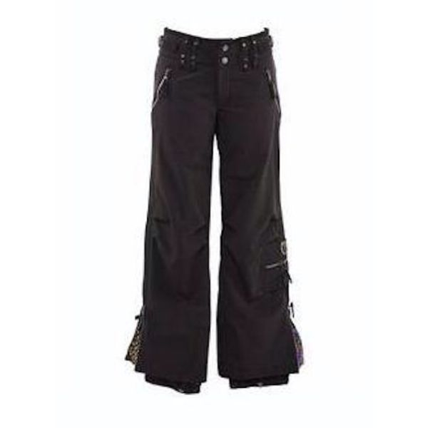 CARGO STRETCH PANT BLACK