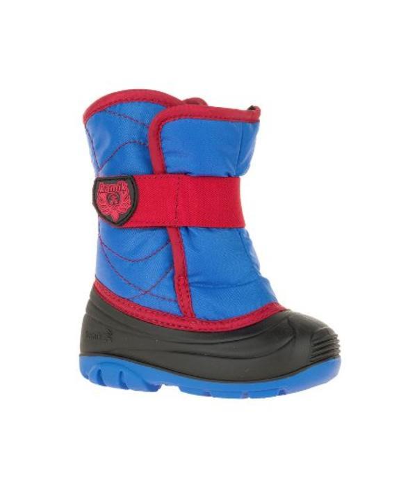 KAMIK TODDLER SNOWBOOT SNOWBUG 3 BOOT - BLUE/RED