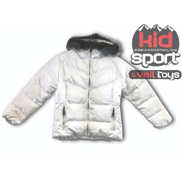 FURRY JUNIOR JAVA JACKET - WHITE FLURRY
