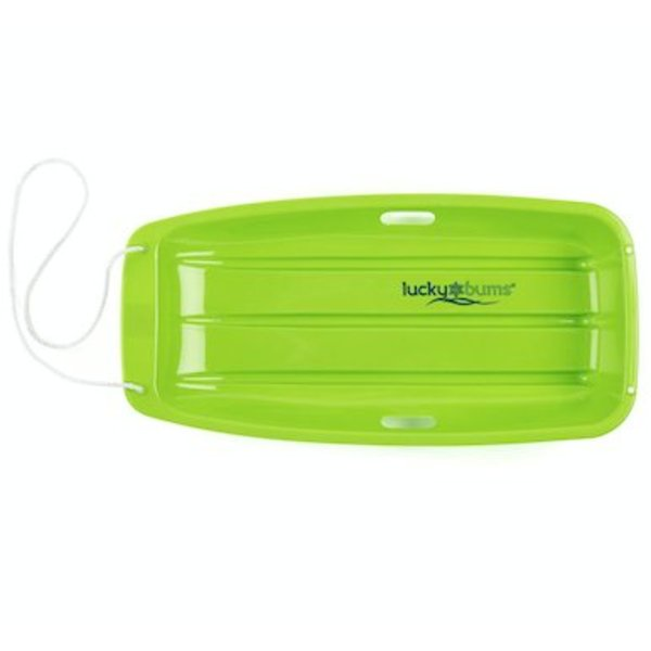 "33"" SNOW TOBAGGAN SLED - GREEN"