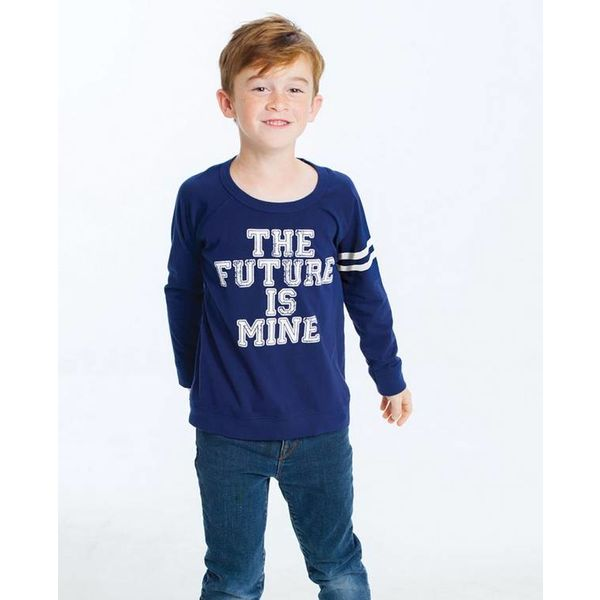THE FUTURE IS MINE L/S TEE