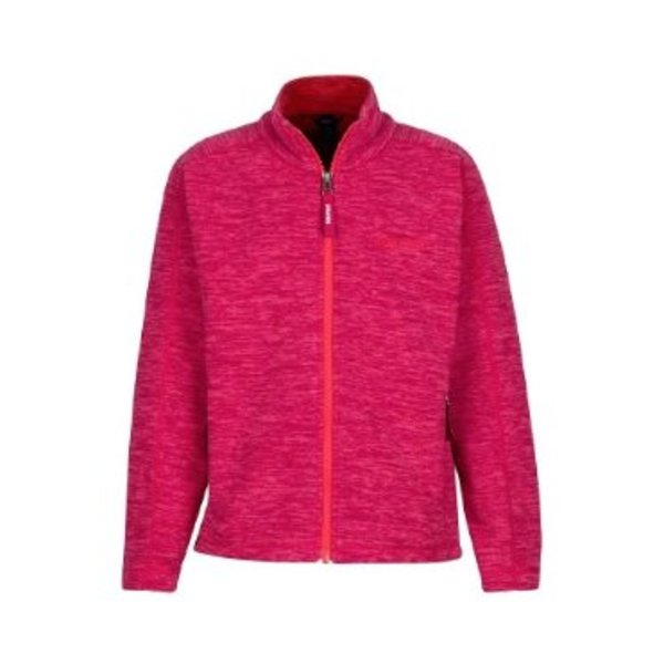 GIRL'S LASSEN FLEECE - BRIGHT RUBY - SMALL (AGES 6-7)